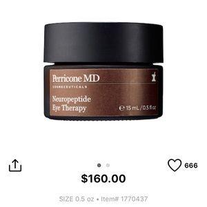 Perricone MD Neuropeptide Eye Therapy NIB